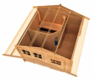 Gartenhaus   Sauna im Gartenhaus.de